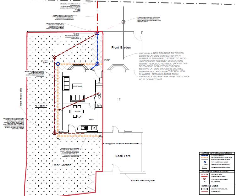 Drainage Strategy Layout